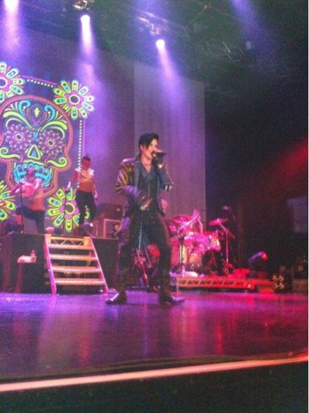 Adam Lambert Setlist Glam Nation Tour