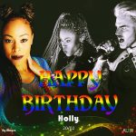 Happy birthday dear hollyhoneychile ! Hoje  aniversrio da Hollyhellip