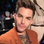 Adam nos bastidores do The X Factor Australia nesta semanahellip